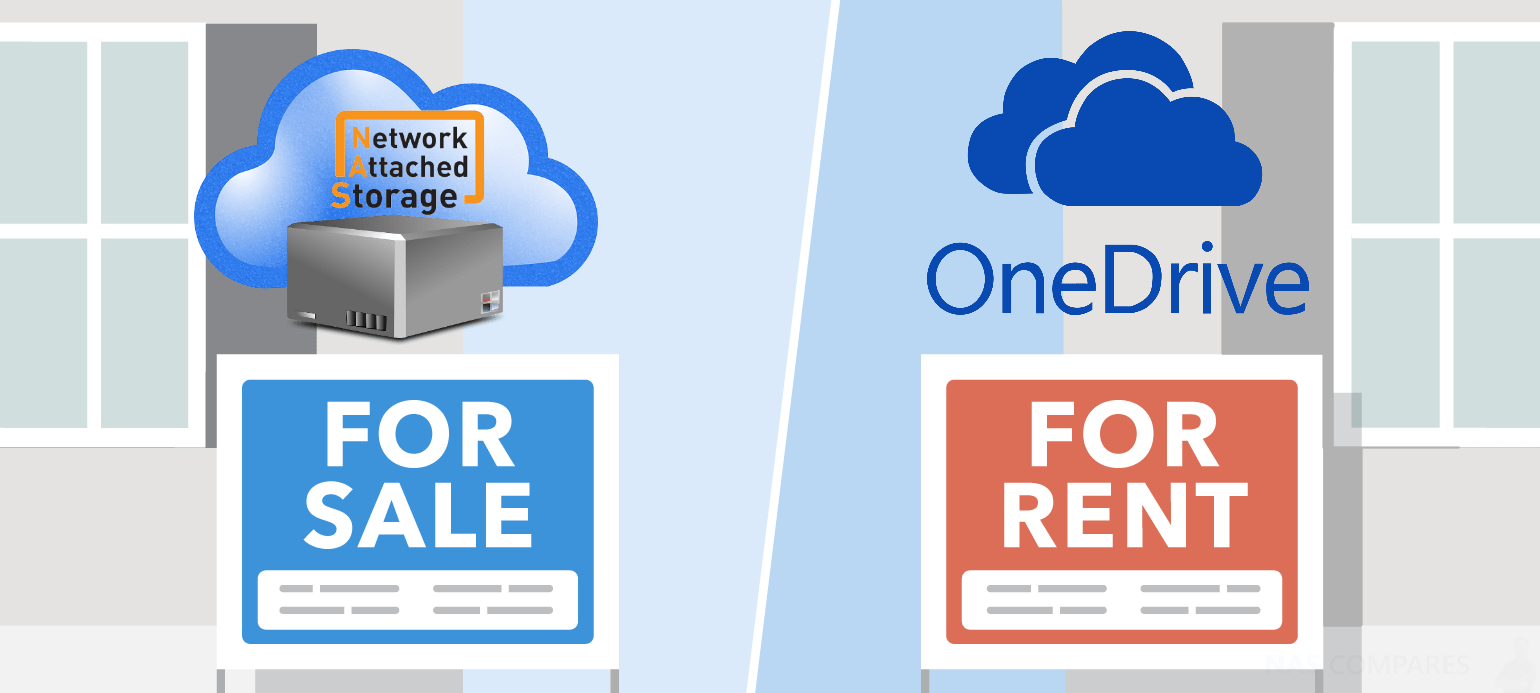 Synology or QNAP NAS Drive vs One Drive Cloud - NAS Compares