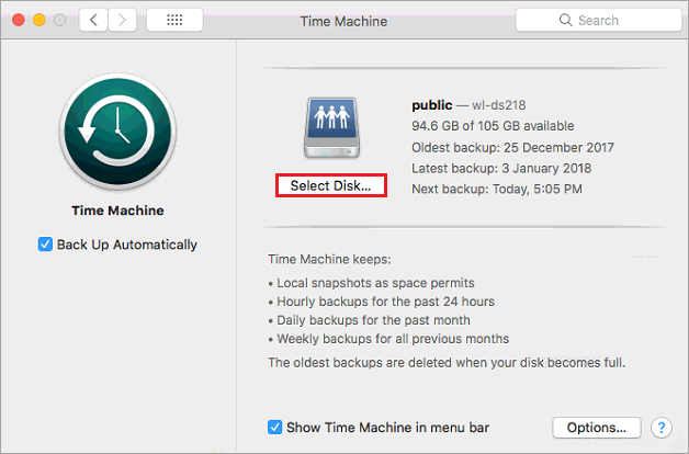 How to Back up your Mac to Synology NAS with Time Machine