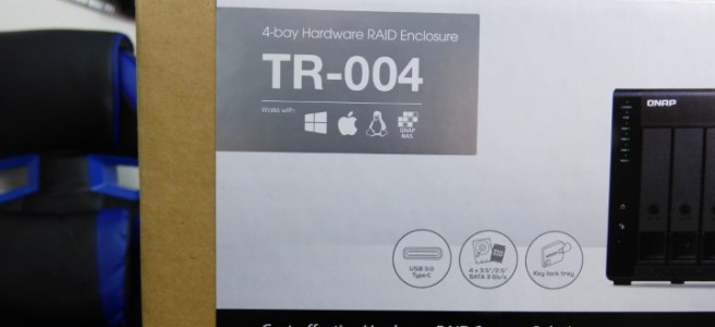 Unboxing the New QNAP TR-004 Hardware RAID Expansion