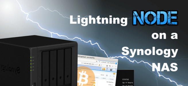 How To Run A Lightning Node On A Synology Nas Drive Nas -