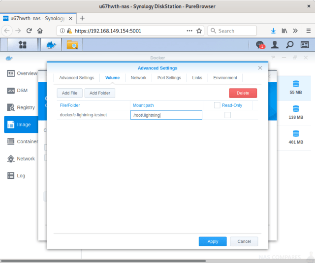 How to Run a Lightning Node on a Synology NAS Drive - NAS Compares