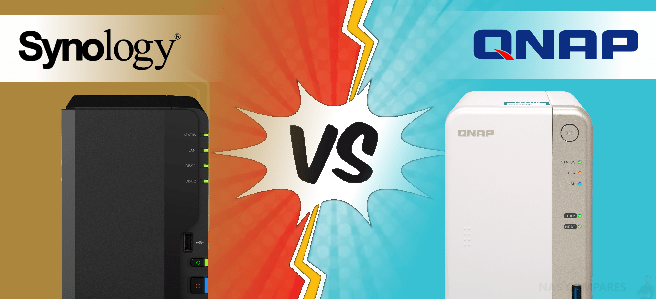 Synology DS218+ NAS Vs QNAP TS-251B NAS Comparison - NAS