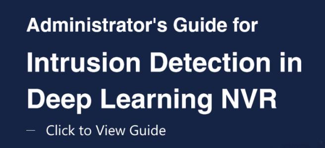 Synology Surveillance DVA3219 Intrusion Detection User Guide
