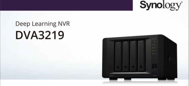 Synology DVA3219 Surveillance NAS Deep Learning NVR