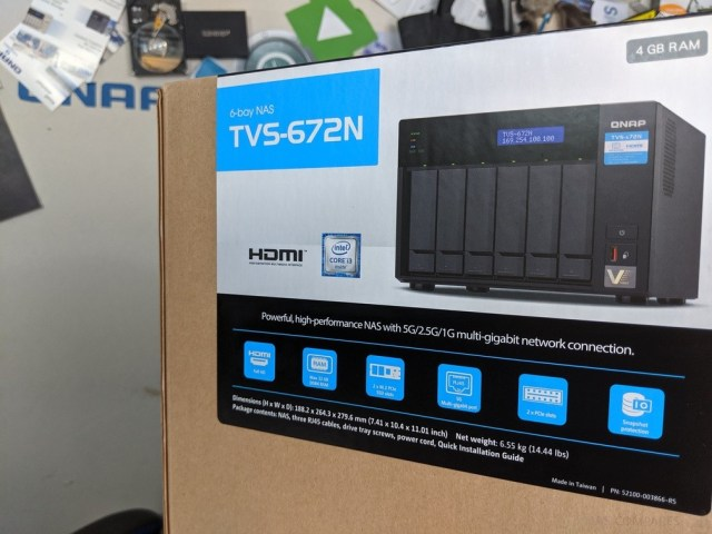 QNAP TVS-672N 5Gbe NAS Review - NAS Compares