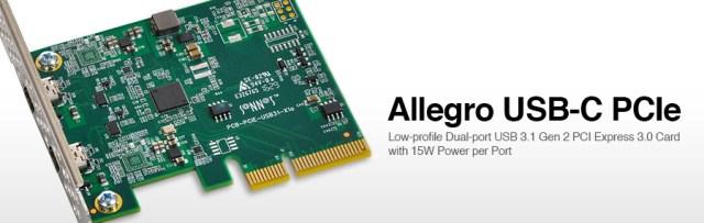 Allegro USB-C PCIe