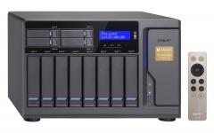 "Qnap Desktop NAS 10GbE+TB2 TVS-1282T-i7-64G 12-Bay (8x 3.5"", 4x 2.5""), RAID 0/1/5/6 (64GB RAM, Core i7) + 10GbE + Thunderbolt 2"