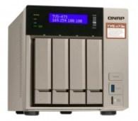 Qnap Desktop NAS TVS-473e-4G 4-Bay, RAID 0/1/5/6 (4GB RAM) + USB QuickAccess