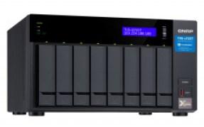 Qnap Desktop NAS 10GbE+TB3 TVS-872XT-i5-16G 8-Bay, RAID 0/1/5/6 (16GB RAM, Core i5) + 10GbE + Thunderbolt 3