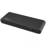 StarTech Thunderbolt3 Docking Station TB3DK2DPWUE 2x TB3 (USB-C), 1x DisplayPort, 3x USB3, LAN - Windows Only