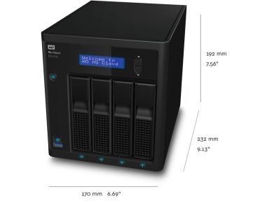 My Cloud Expert Series EX4100 | Tech Specs