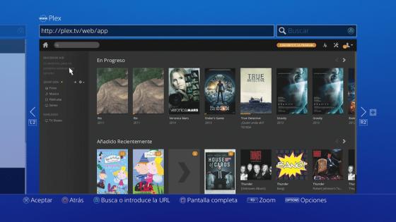 Captura PS4 Plex