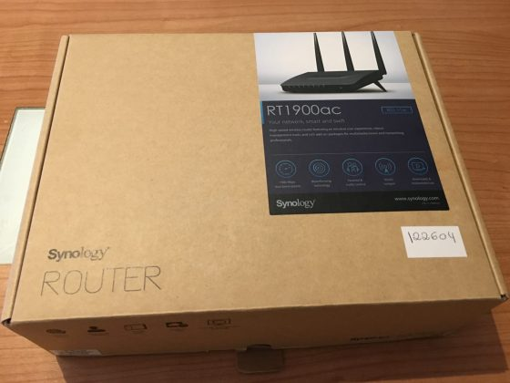 Caja Router Synology RT1900