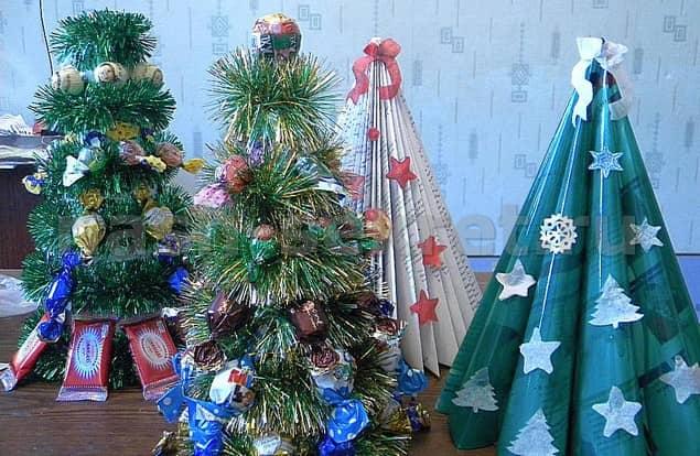 Pomul de Crăciun din reviste