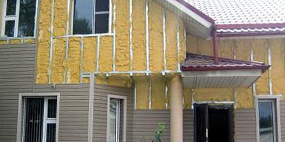 Двухэтажный дом сайдингом. Фасад дома под сайдинг, советы и варианты