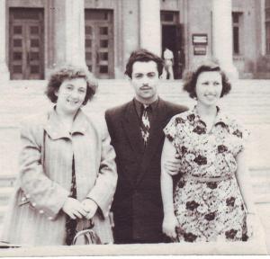 Лейли Хачатурян (слева) с Константином Орбеляном