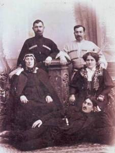 Семья Владикавказских армян