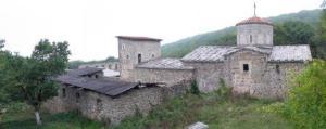 Армянский монастырь Святого Креста в Крыму