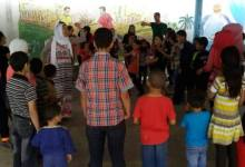 أنشطة ترفيهيّة بين الأطفال في ناشط