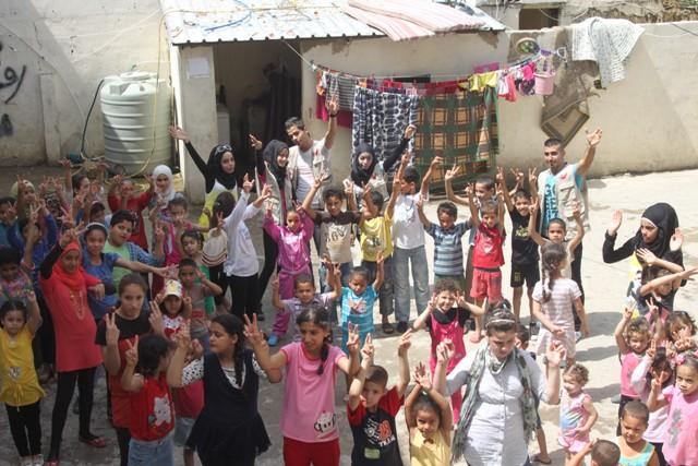 جمعية ناشط تنظّم يوماً ترفيهيّاً للأطفال النازحين من سوريا في روضة بدر