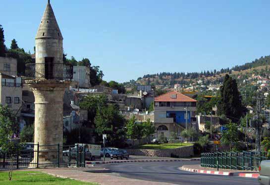 مدينة صفد الفلسطينية