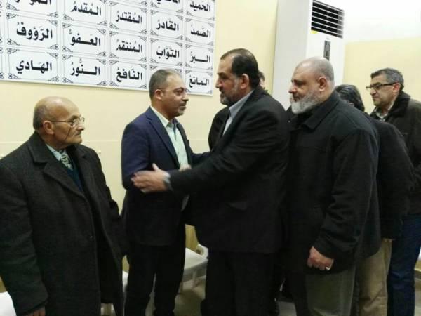 حفل تأبين في صيدا لشقيق رئيس جمعية ناشط الاستاذ ظافر الخطيب
