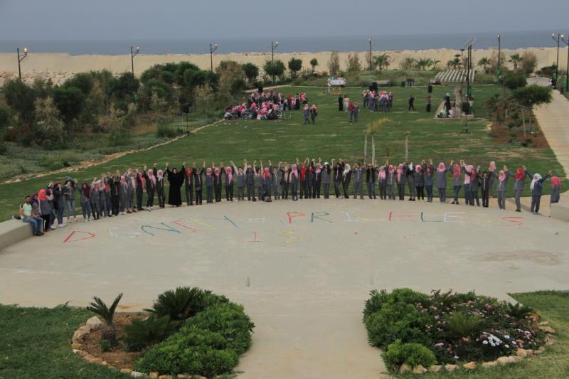 جمعية ناشط تشارك مدرسة الفالوجة في اليوم المفتوح تحت عنوان