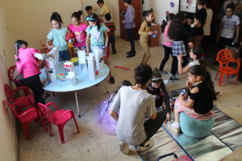 جمعية ناشط الثقافية الاجتماعية تفتتح ناديها الجديد أطفال فلسطين