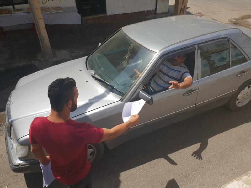 شعلة ناشط يطلق حملة ضد ظاهرة إطلاق النار الابتهاجي في الأعراس والمناسبات في مخيم عين الحلوة
