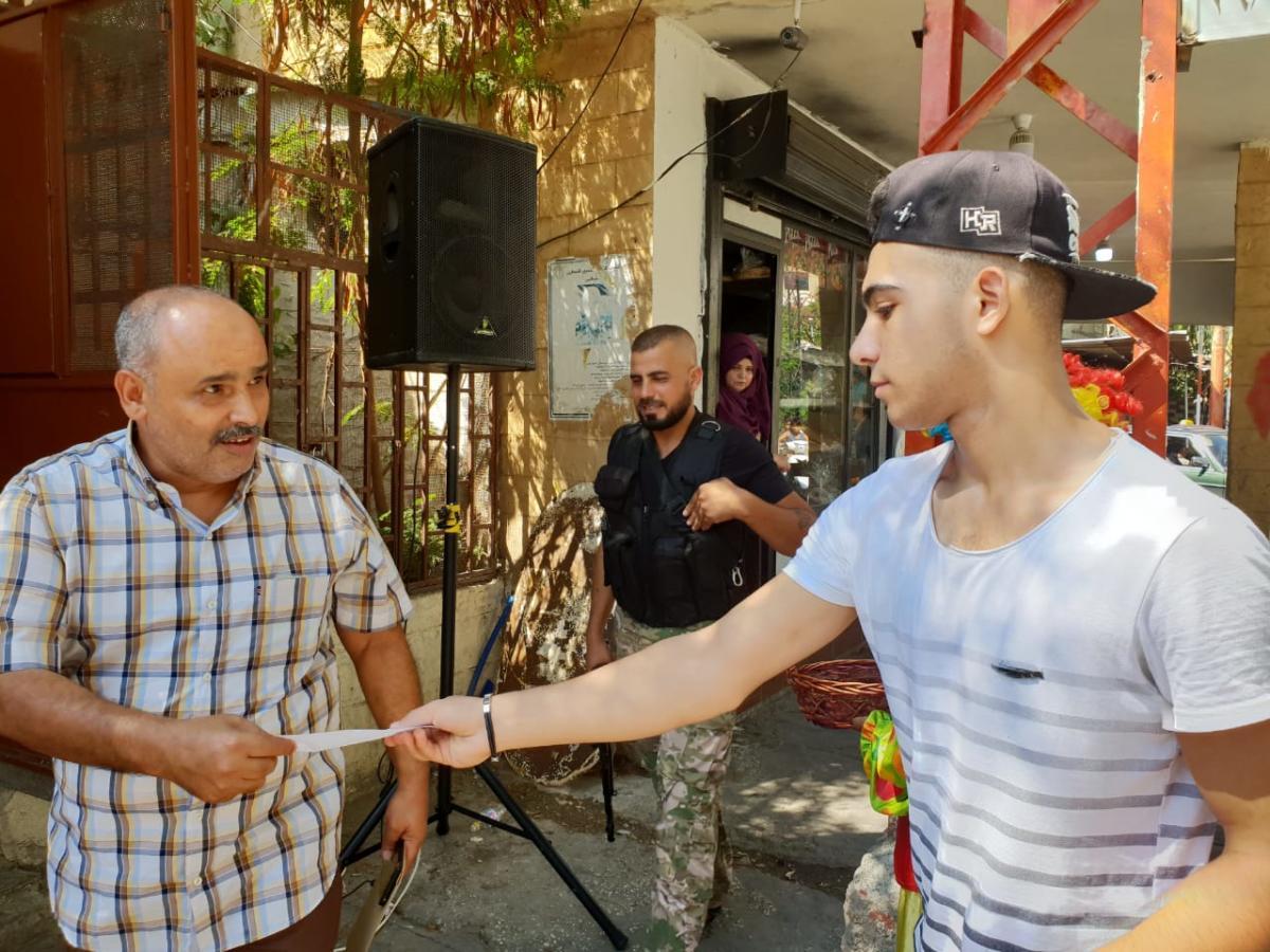 شعلة ناشط وكشافة ناشط يستقبلون عيد الاضحى المبارك