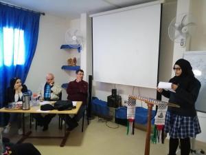 الأنتهاء من المرحلة الثانية في مسابقة محمود درويش في الأداء الشعري