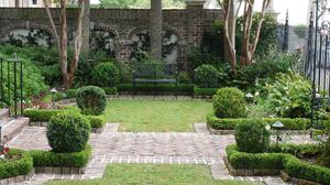 садовый дизайн маленького участка 1