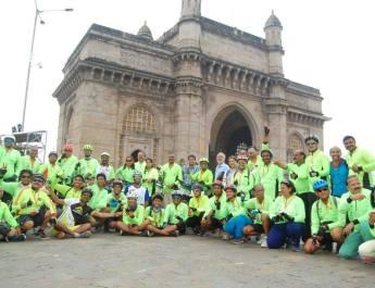 indian cycle day nashik mumbai cycle rally cyclists mtdc