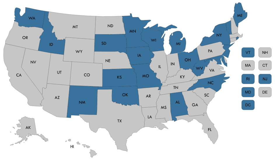 State Delivery System and Payment Reform Map   NASHP