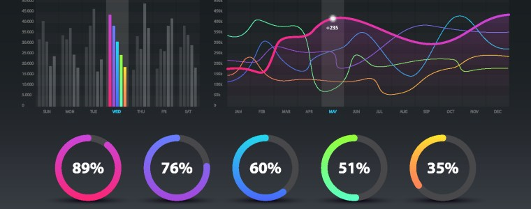Sample of Data Visualization Dashboard