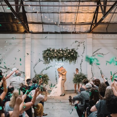 Wedding Ceremony Inspiration: Nashville wedding planner Amy & I Designs featured on Nashville Bride Guide