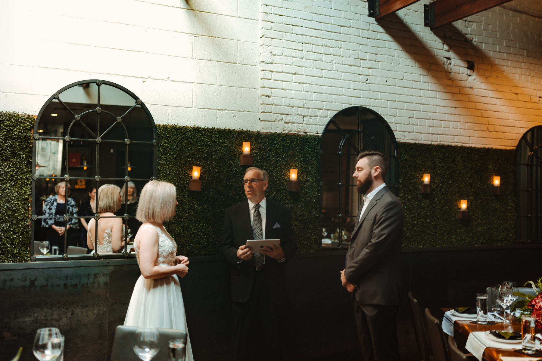 Elopement ceremony: Nashville brunch elopement featured on Nashville Bride Guide