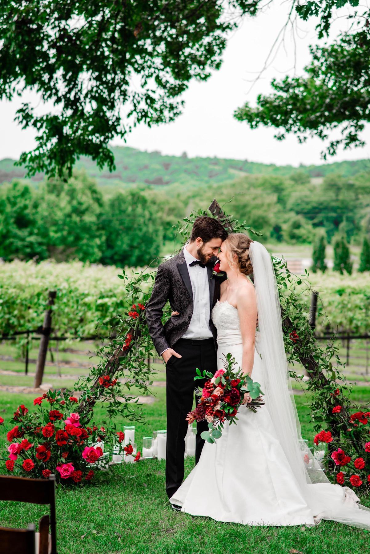 Wedding Ceremony Backdrop Inspiration from Amy & I Designs on Nashville Bride Guide