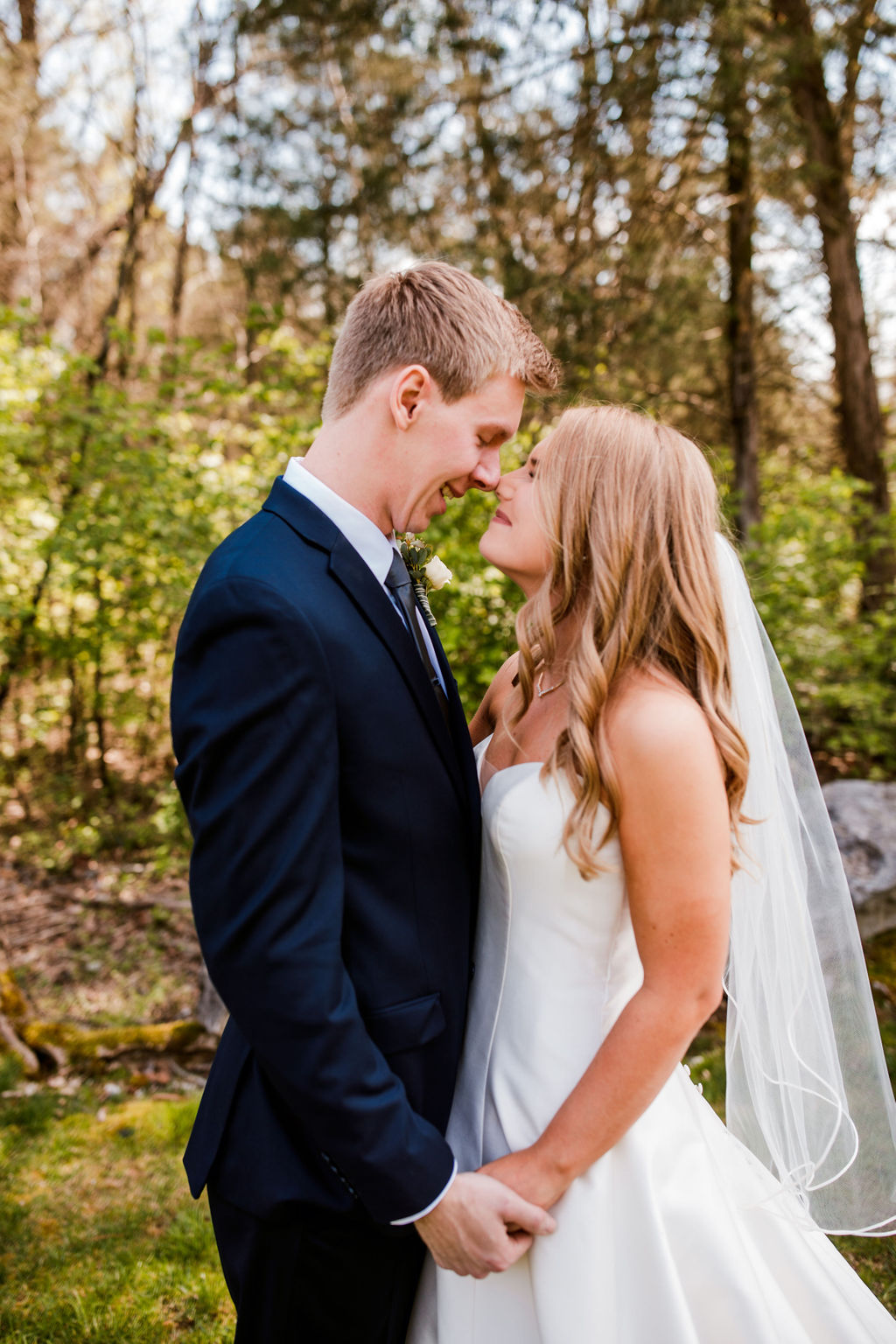 Outdoor Wedding Photos: Beautiful Graystone Quarry Wedding captured by John Myers Photography & Videography
