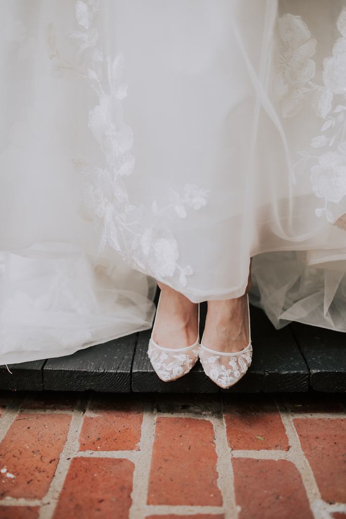 Bridal shoes: Summer Soiree at Cedarwood Weddings featured on Nashville Bride Guide