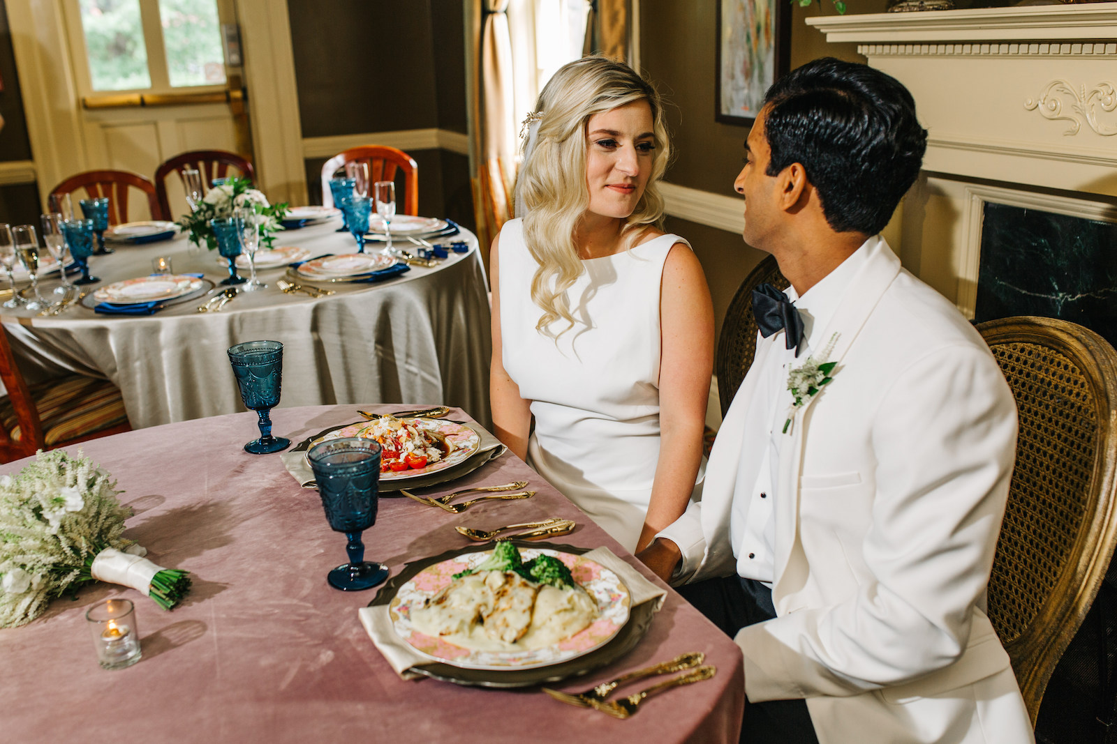 Top Dishes for a Rehearsal Dinner or Bridal Shower at Mere Bulles featured on Nashville Bride Guide