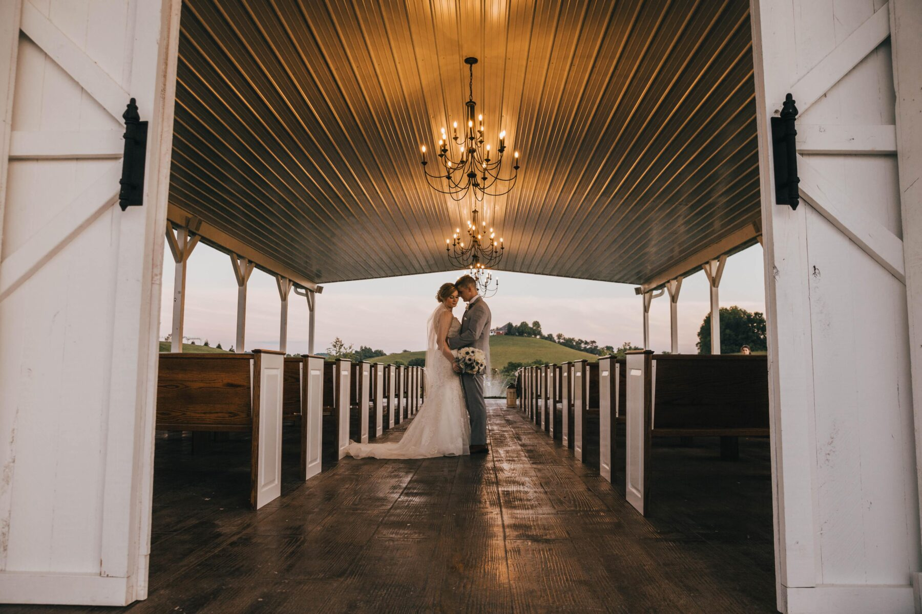 White Dove Barn Wedding by Grace Upon Grace Photography featured on Nashville Bride Guide