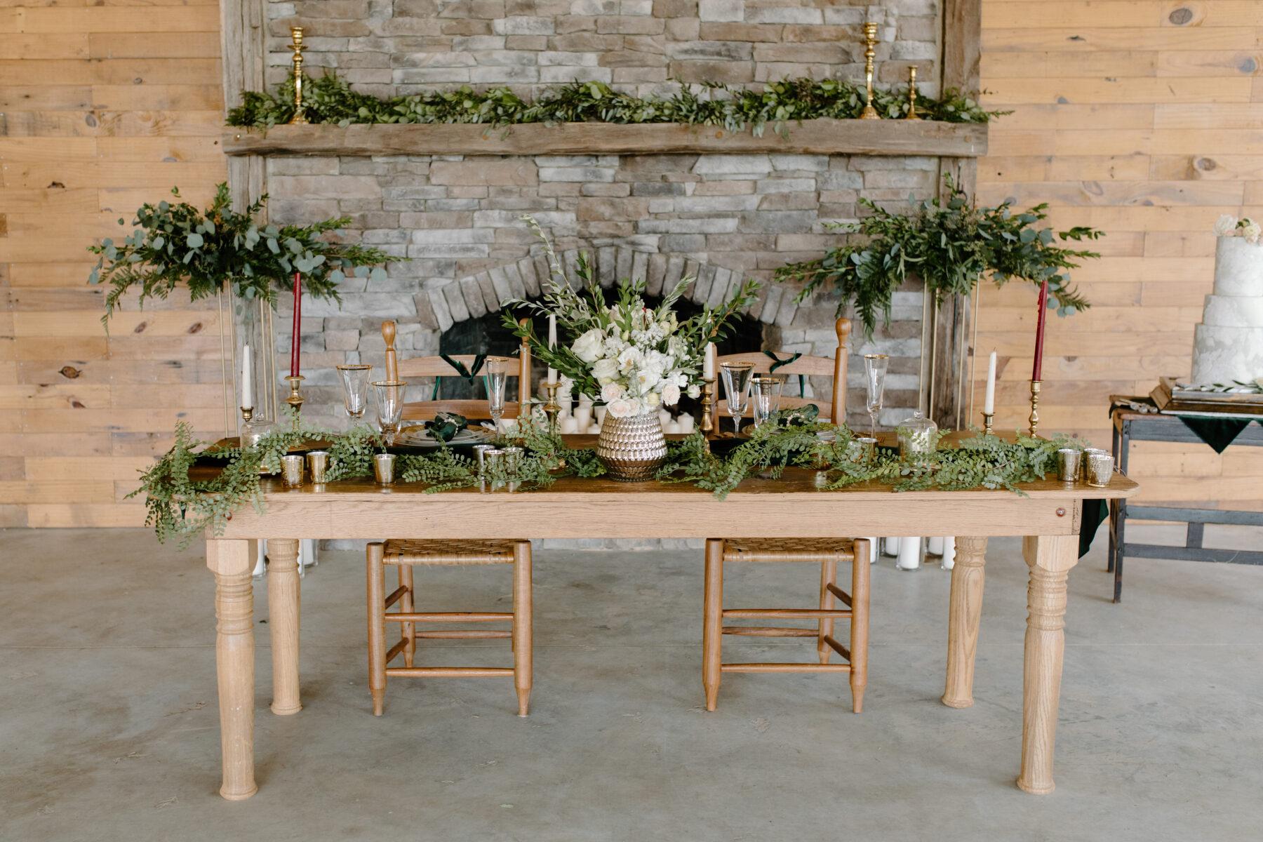 Christmas Inspired Wedding Styled Shoot | Nashville Bride Guide