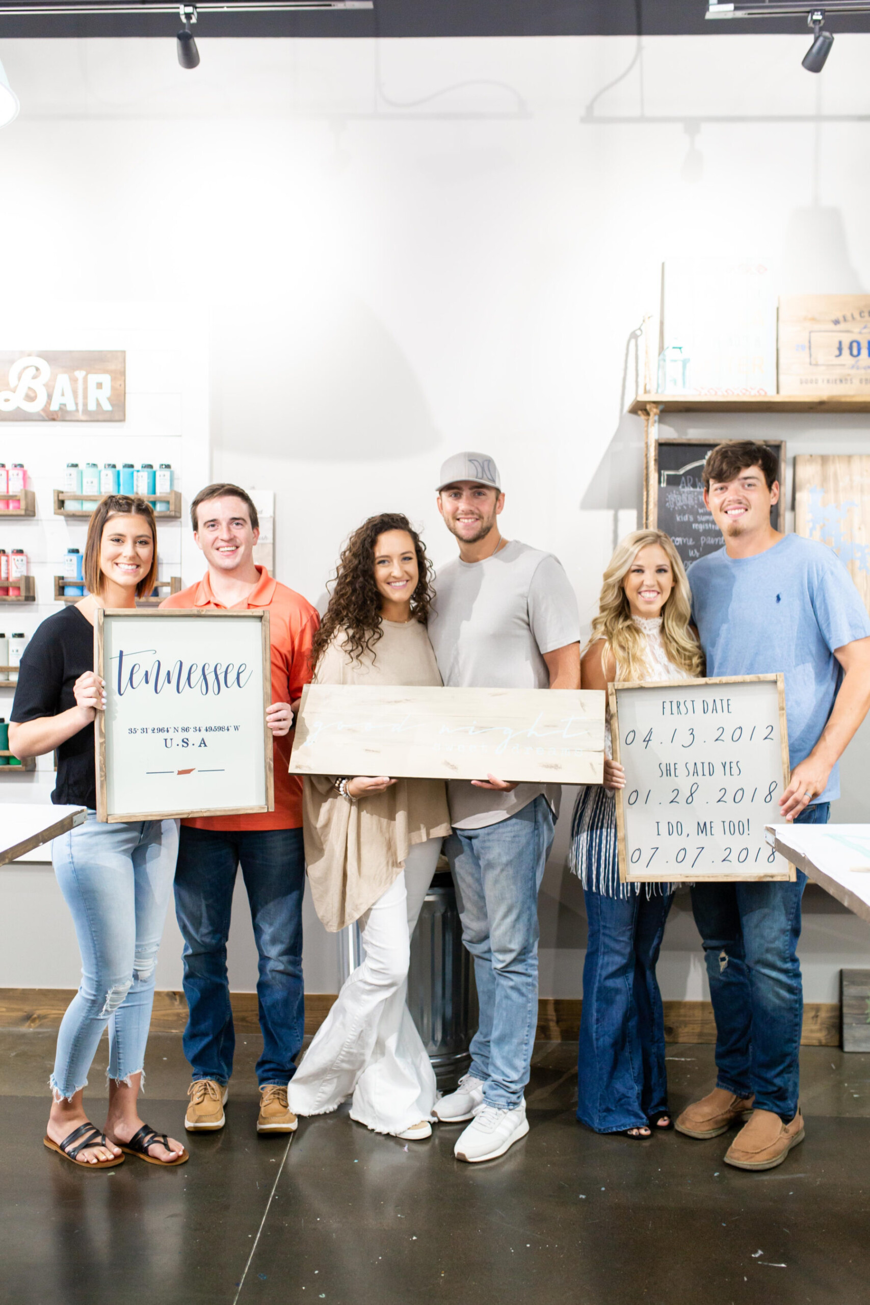 How to Host an Interactive Bridal Shower from AR Workshop Mt. Juliet