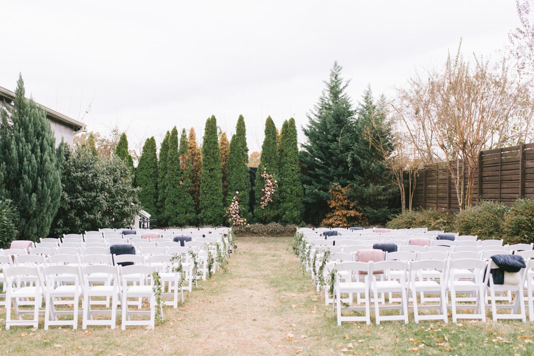 Outdoor Wedding Ceremony at The Cordelle   Nashville Bride Guide