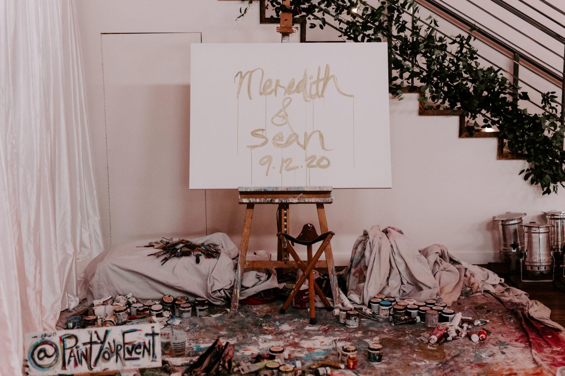 Paint Your Event Live Wedding Painter | Nashville Bride Guide