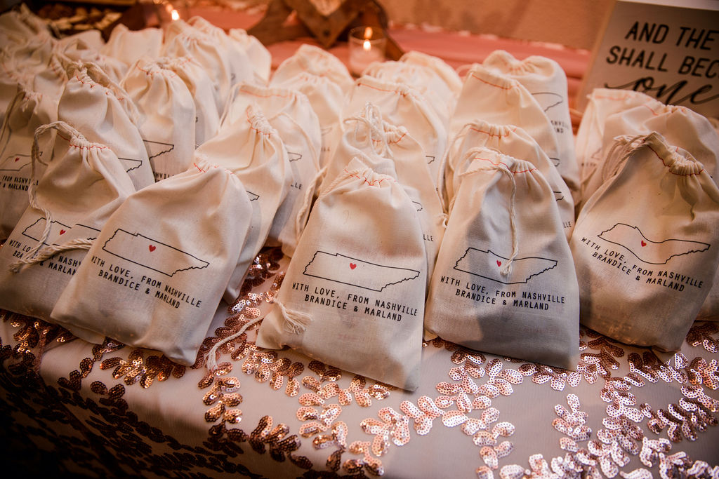 Personalized wedding favors | Nashville Bride Guide