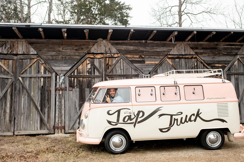 Tap Truck Nashville's New VW Bus   Mobile Beverage Bar   Nashville Bride Guide