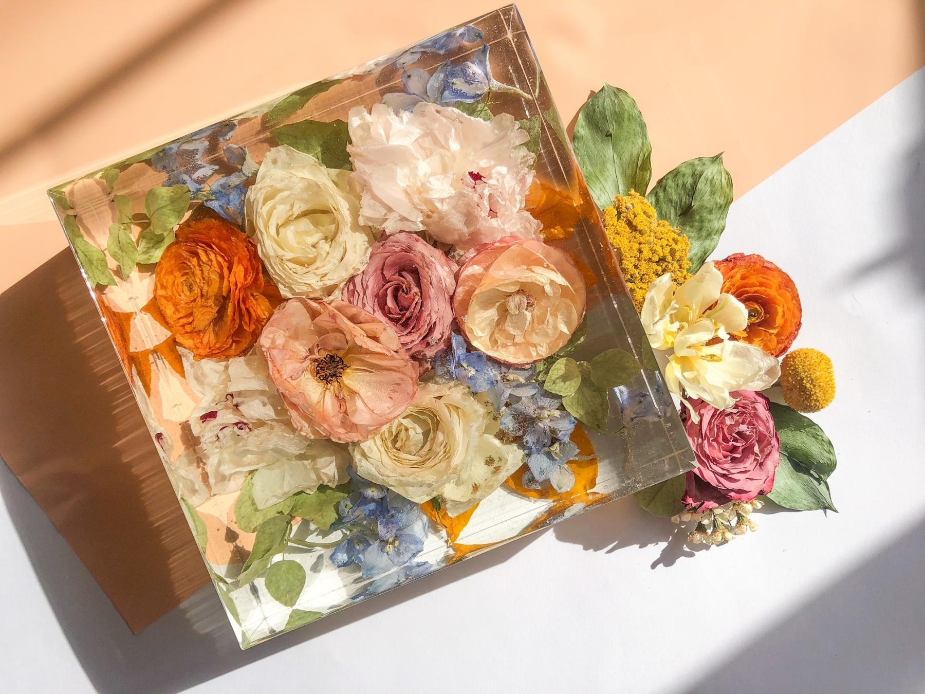 Nashville wedding flower preservation by Amy & I Designs