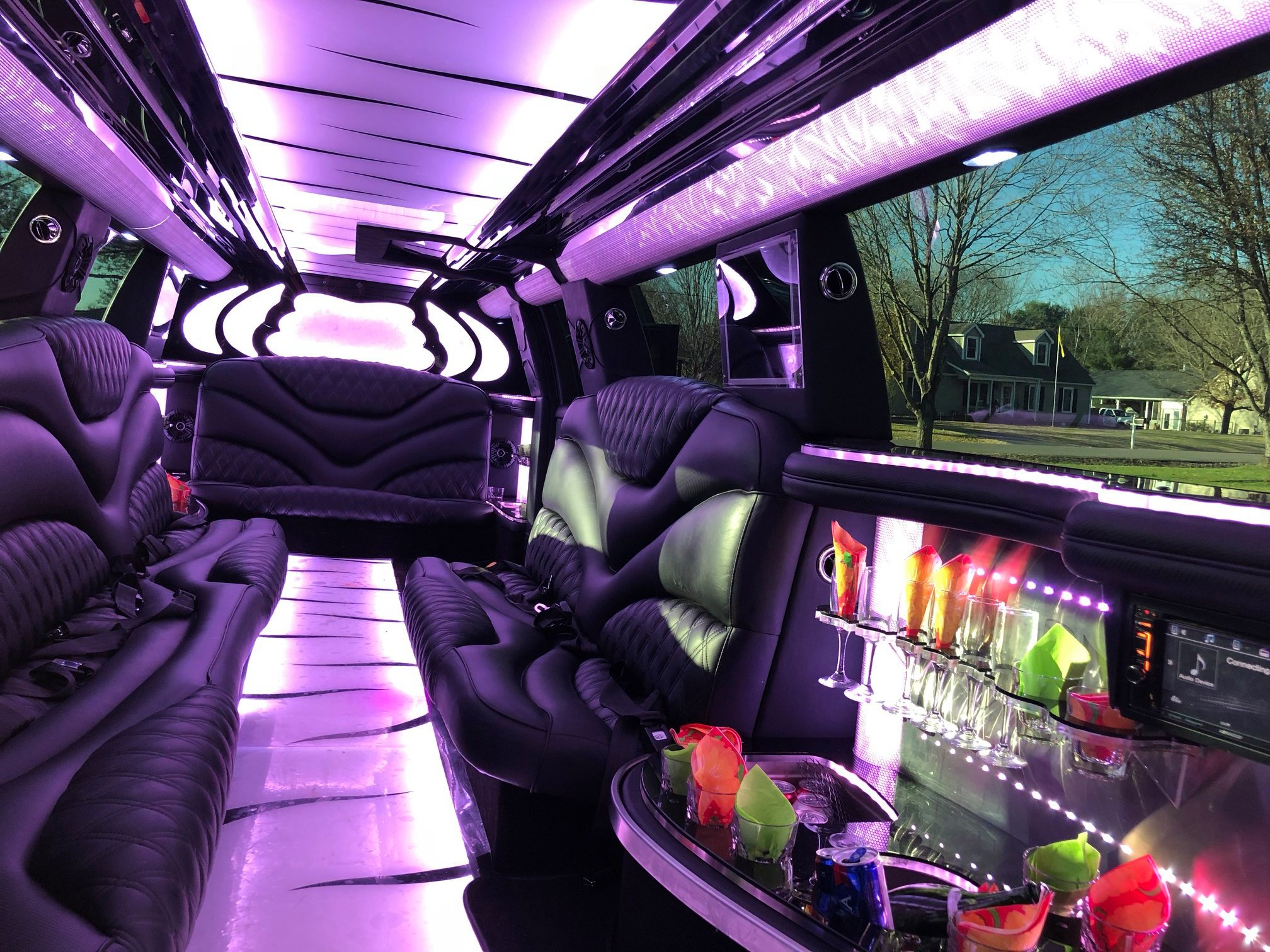 2019 Escalade Limousine7-Nashville-Chauffeur